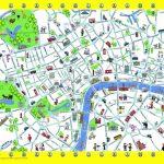 London Detailed Landmark Map   London Maps   Top Tourist Attractions   Printable Street Maps Free