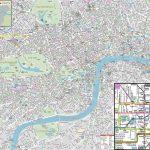 London Maps   Top Tourist Attractions   Free, Printable City Street   Printable Street Maps Free