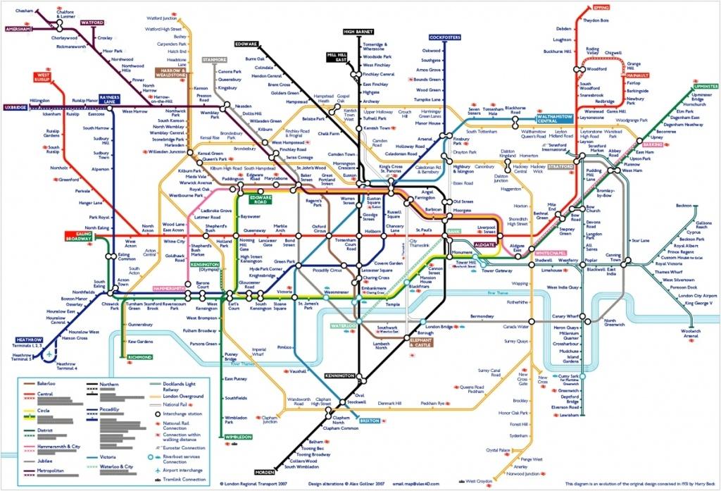 London Tube Map 502910948A8A4 Random 2 Underground Printable In - Printable London Underground Map