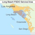 Long Beach Ca Map | D1Softball   Long Beach California Map