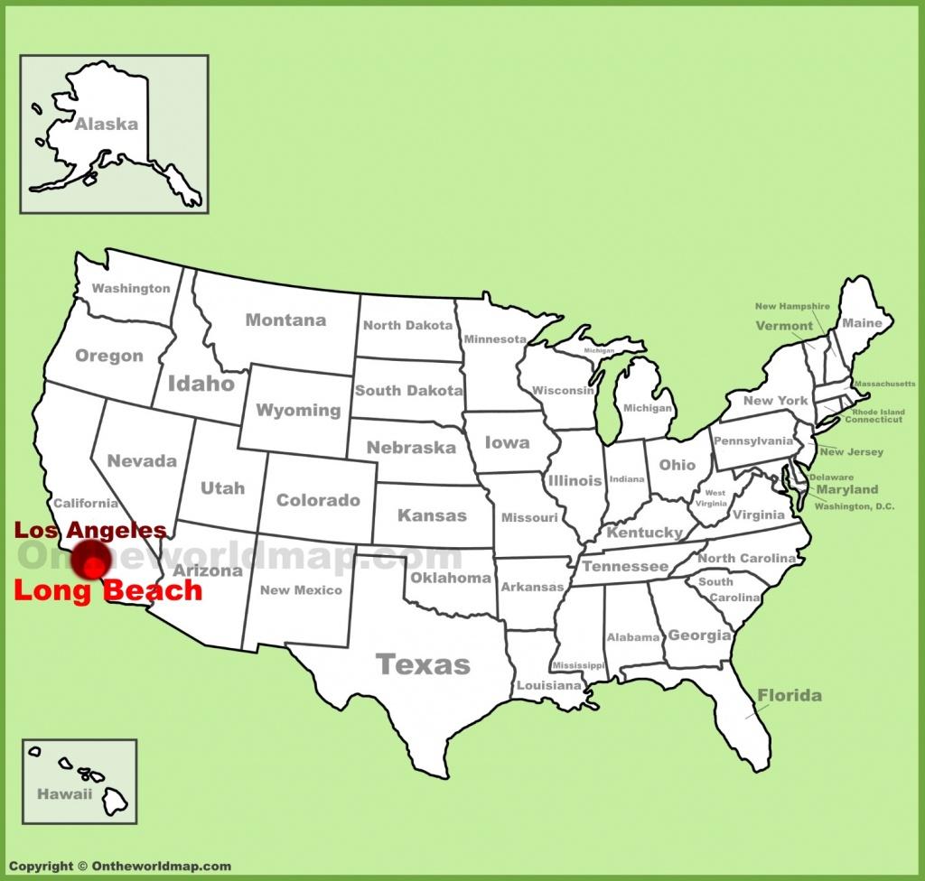 Long Beach Maps | California, U.s. | Maps Of Long Beach - Beach Map Of California