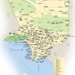Los Angeles County Map   Printable Map Of Los Angeles County