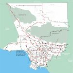 Los Angeles County Map Printable – Map Of Usa District   Printable Map Of Los Angeles County