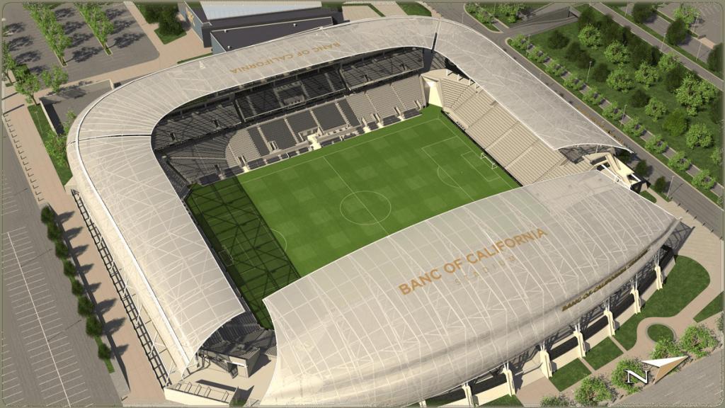 Los Angeles Football Club - Banc Of California Stadium Map