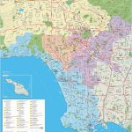 Los Angeles Maps | California, U.s. | Maps Of L.a. (Los Angeles)   Printable Map Of Los Angeles County