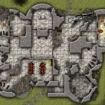 Lost Mine Of Phandelver: Cragmaw Hideout And Cragmaw Castle (Battlemaps)   Cragmaw Hideout Printable Map