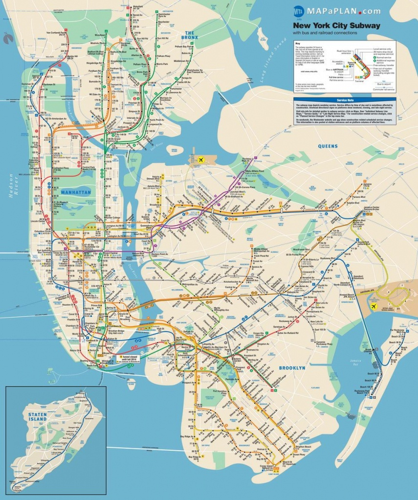 Lots Of Free Printable Maps Of Manhattan. Great For Tourists If You - Free Printable Street Map Of Manhattan
