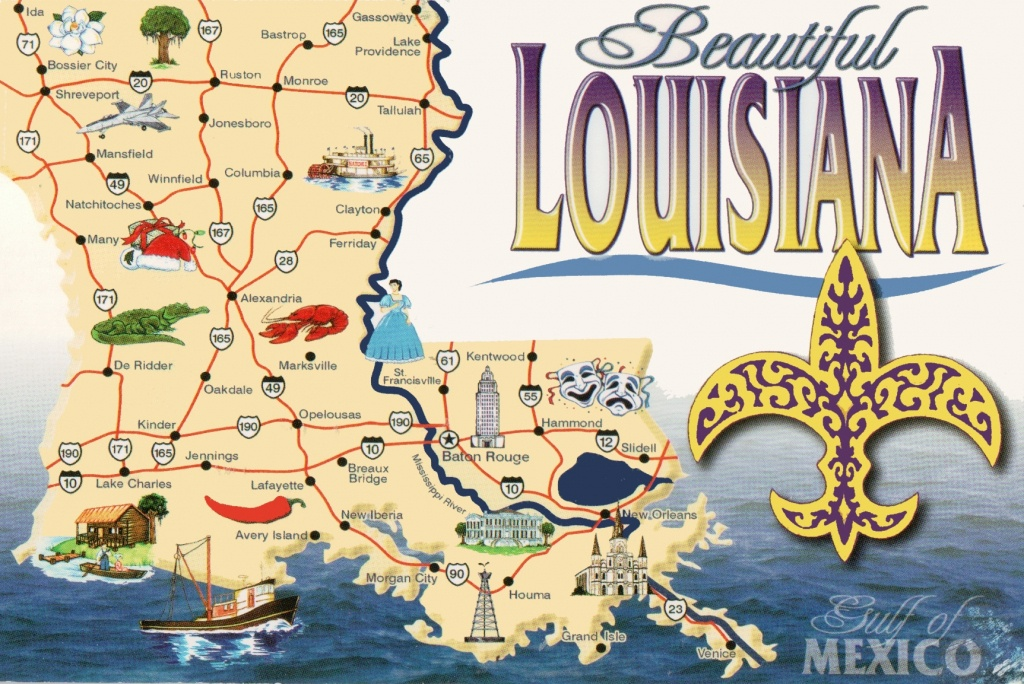 Louisiana State Maps | Usa | Maps Of Louisiana (La) - Louisiana State Map Printable