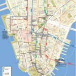 Lower Manhattan Map   Go! Nyc Tourism Guide   Manhattan City Map Printable