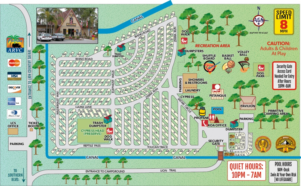 Loxahatchee, Florida Campground   West Palm Beach / Lion Country - Florida Rv Camping Map
