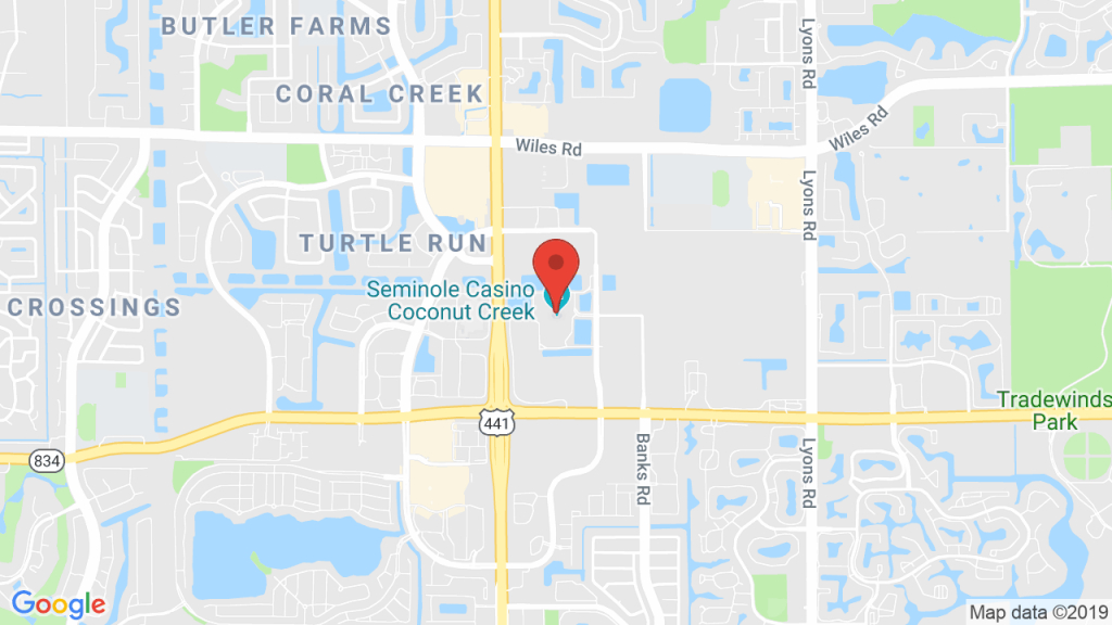 Ludacris At Seminole Casino Coconut Creek - Apr 5, 2019 - Coconut - Map Of Seminole Casinos In Florida