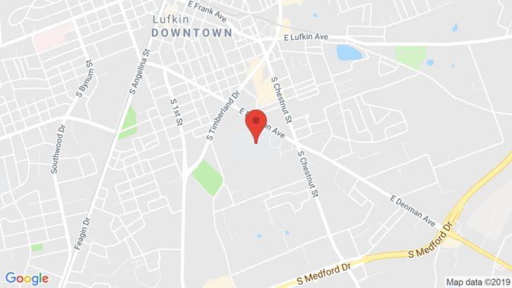 Google Maps Lufkin Texas