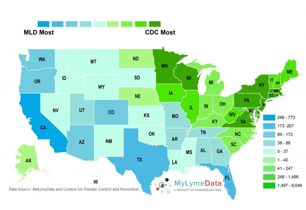 Lyme Disease Florida Map | Autobedrijfmaatje - Lyme Disease In Florida Map