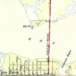 Lyn Haven, Florida, 1944   Lynn Haven Florida Map