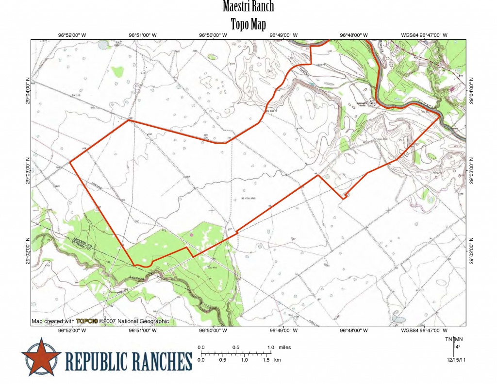 Maestri Ranch - Republic Ranches - King Ranch Texas Map