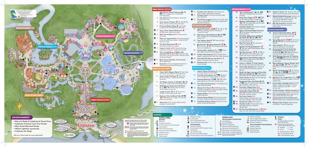 Magic-Kingdom-Map-2 | Dis Blog - Map Of Magic Kingdom Orlando Florida