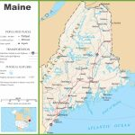 Maine Highway Map   Maine State Map Printable