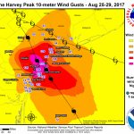 Major Hurricane Harvey   August 25 29, 2017   Texas Wind Direction Map