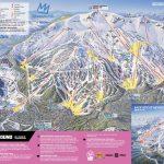 Mammoth Mountain Ski Area Trail Map   Onthesnow   Southern California Ski Resorts Map