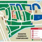 Manatee Hammock Park   Florida Tent Camping Map