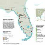 Manatee Invasion! – National Geographic Education Blog   Florida Hot Springs Map