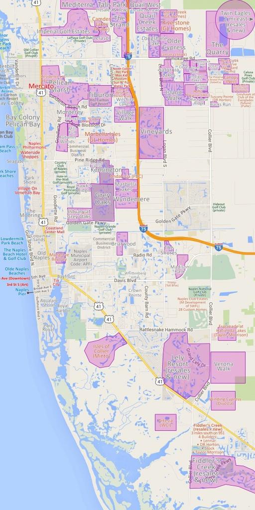 Map 20 Naples Fl Map | Ageorgio - Pelican Bay Florida Map