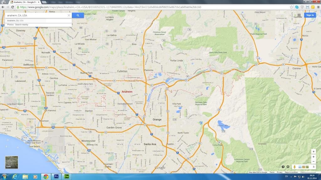 Map Anaheim California Surrounding Areas – Map Of Usa District - Map Of Anaheim California And Surrounding Areas