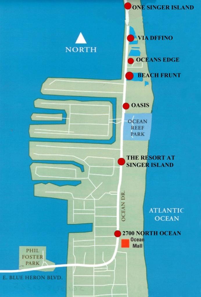 Map   Dermot Obrien Realty Sells Singer Island! - Singer Island Florida Map