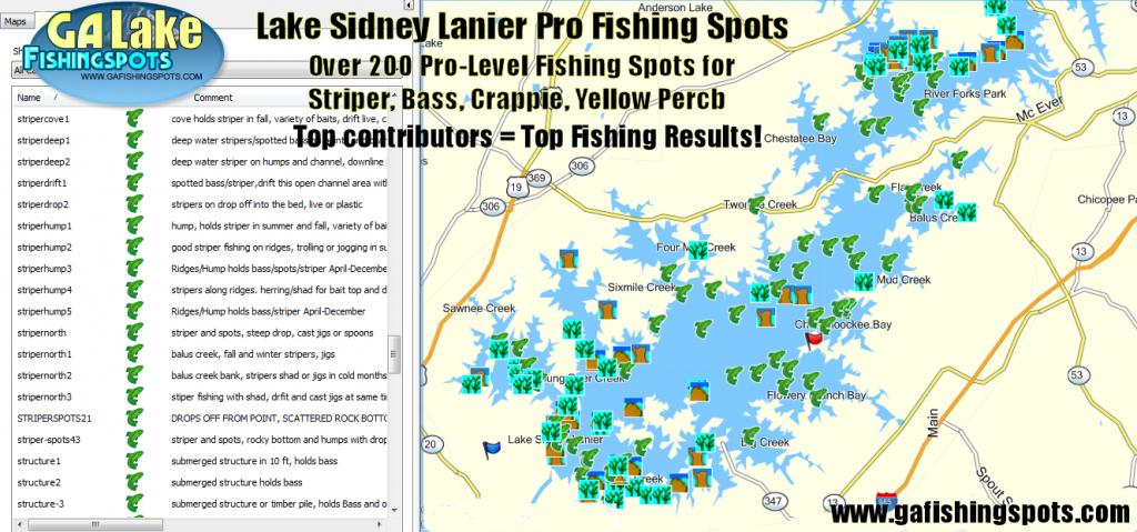 Map | Lake O' The Pines - Texas Fishing Hot Spots Maps | Printable Maps - Lake Of The Pines Texas Map