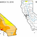 Map: Look At The Drought Difference In California From One Year Ago   California Reservoirs Map