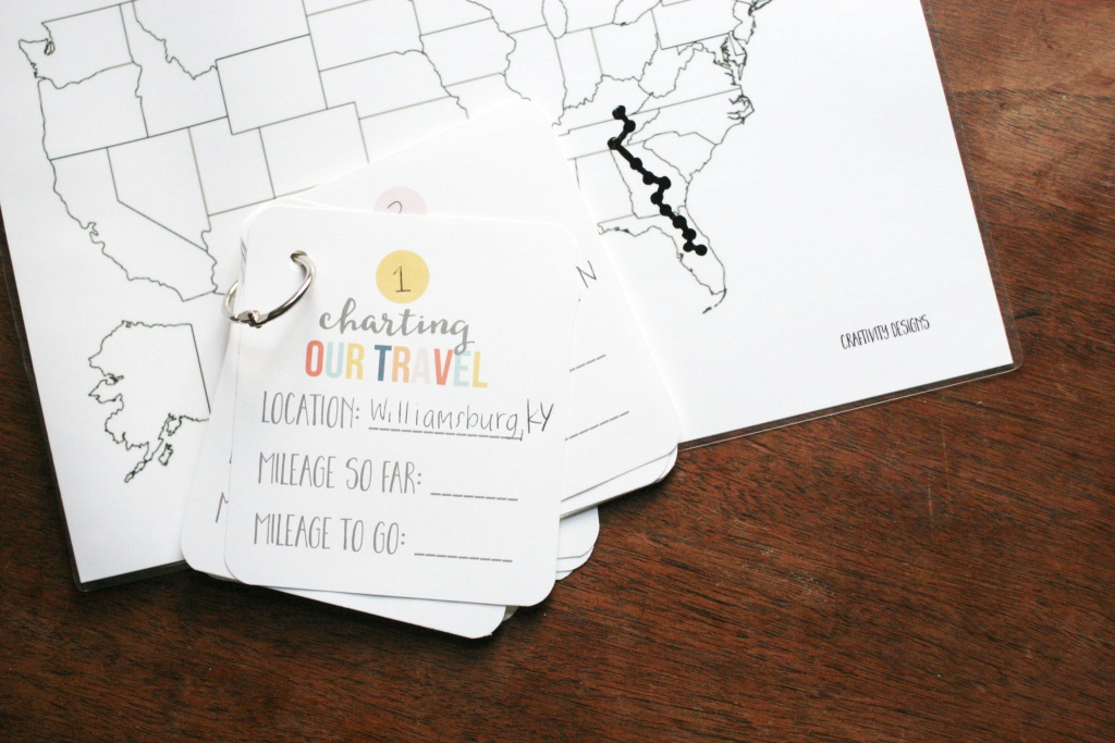 Map My Trip For Kids   Charting Travel With A Free Map Template - Printable Travel Maps For Kids