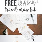Map My Trip For Kids | Free Printables And Templates | My Travel Map   Free Printable Travel Maps