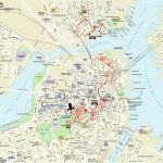 Map | Northendboston   Boston City Map Printable