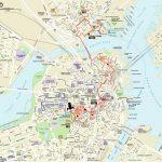 Map | Northendboston   Boston Tourist Map Printable