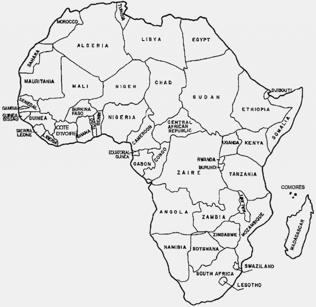 Outline Map Of Africa Printable.Map Of Africa Coloring Page Outline Map Of Africa With