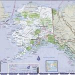 Map Of Alaska With Cities And Towns   Printable Map Of Alaska With Cities And Towns