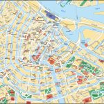 Map Of Amsterdam Tourist Attractions, Sightseeing & Tourist Tour   Amsterdam Street Map Printable