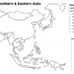 Map Of Asia Blank And Travel Information | Download Free Map Of Asia   Asia Outline Map Printable