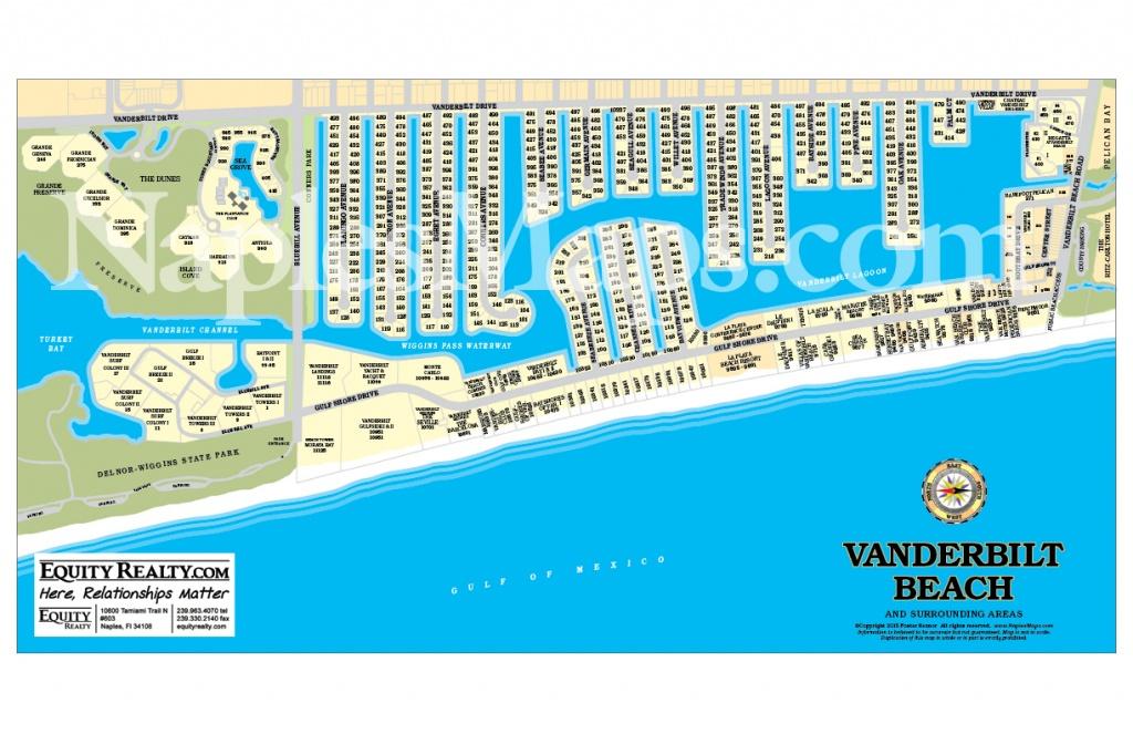 Map Of Beaches In Naples Florida   Download Them And Print - Vanderbilt Beach Florida Map