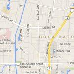 Map Of Boca Raton Fl | Compressportnederland   Boca Delray Florida Map