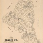 Map Of Brazos Co., Texas | Library Of Congress   Brazos County Texas Map