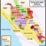 Map Of California Avas California Map Of Cities California Wine   California Wine Ava Map