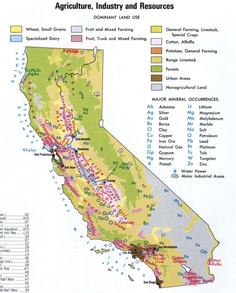Map Of California National Parks And Monuments And Travel - National Parks In Northern California Map