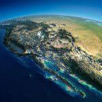 Map Of California   Satellite Map Of California