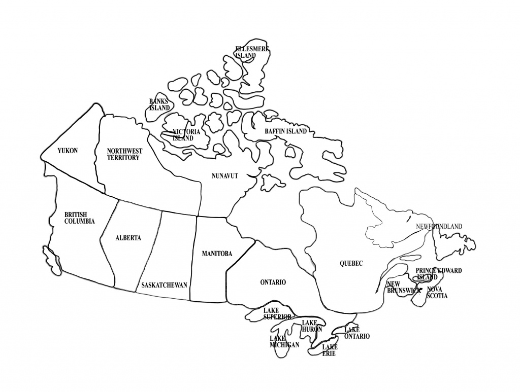 Map Of Canada   Homeschool   Canada For Kids, Map, Maps For Kids - Printable Blank Map Of Canada To Label