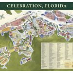 Map Of Celebration Streets. | Celebration, Florida | Celebration   Celebration Florida Map