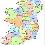 Map Of Counties In Ireland | This County Map Of Ireland Shows All 32   Printable Map Of Ireland Counties And Towns