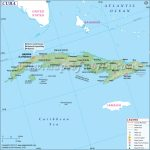 Map Of Cuba, Cuba Map   Printable Outline Map Of Cuba