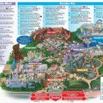 Map Of Disney California Adventure Park   Secretmuseum   California Adventure Map 2017