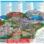 Map Of Disneyland And California Adventure Park   Secretmuseum   California Adventure Map 2017